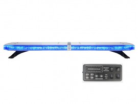Low profile led blue ambulance light bars for trucks