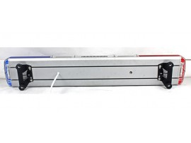 Roof linear led police lightbar with siren speaker