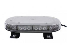 Low profile 30 LED mini warning light bar