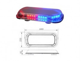 Mini lightbar No.SRL-GRT-016A