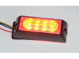 4W Blue LED Warning flash lights No.LED-GRT-006B