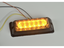 6W LED Truck Strobe Flashing Headlight Surface Mounted No.LED-GRT-011