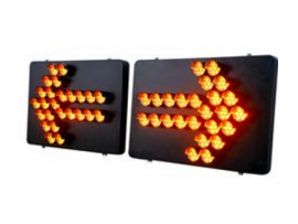 Road safety sign board traffic arrow sign light No.TAL-GRT-006