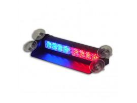 8W LED RedBlue Truck Visor Warning Lights No.ZXSL-V341