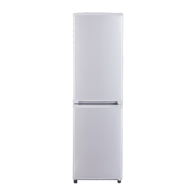 160L AC Electrocity Chromium Plating Handle Silver Refrigerator