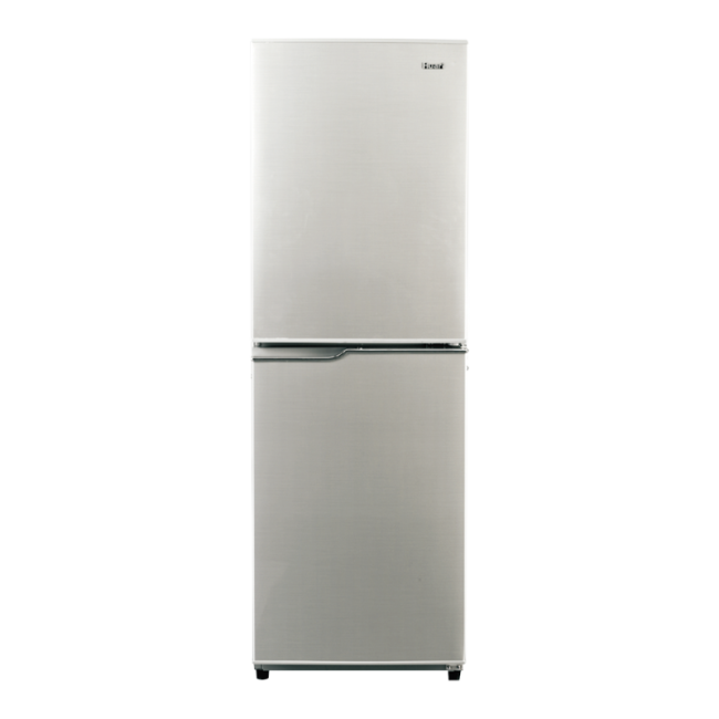 196L AC Big Freezer Compartment Design Silver Refrigerator