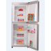 200L R600a Top Freezer Double Doors White Refrigerator
