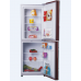 230L Direct Cooling Auto Defrost Colorful Refrigerator