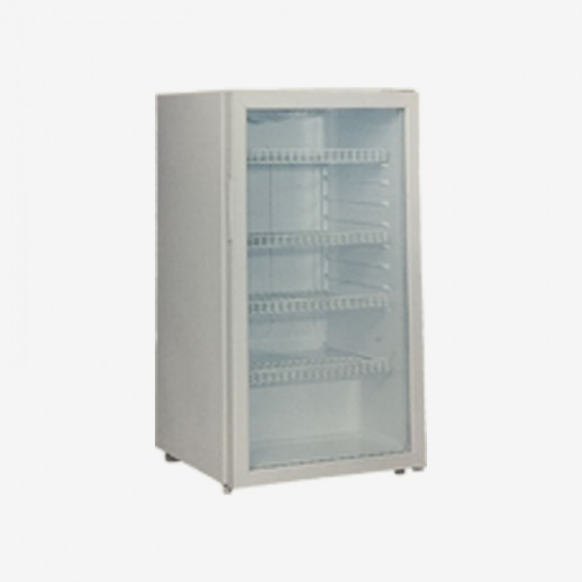 110L Glass Door Anti-Frost Showcase with Light