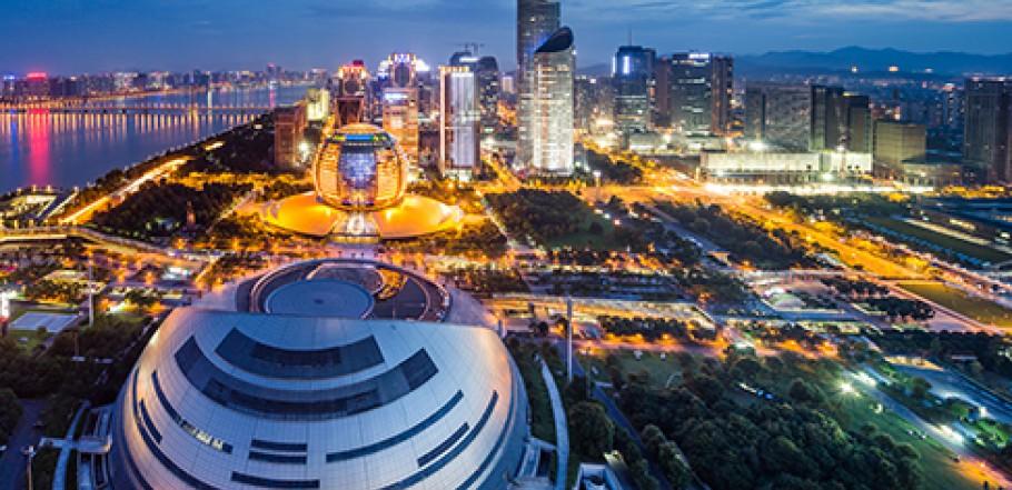 G20 summit in Hangzhou city