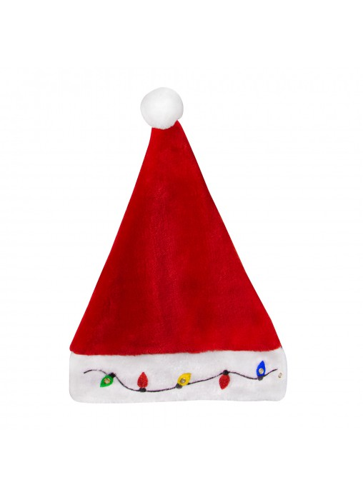 Light Up Christmas Santa Claus Hat