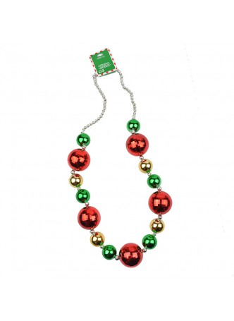Christmas Decoration Jumbo Beads Necklace