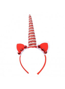 Christmas Decoration Glitter Unicorn Headband With Ears