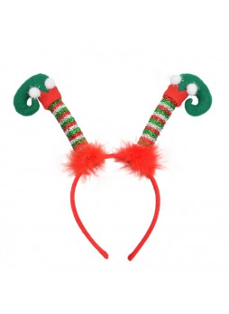 Novelty Christmas Decoration ELF Legs Headband