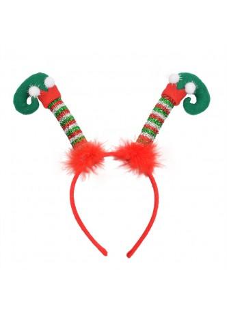 Novelty Christmas Decoration ELF Legs Headband