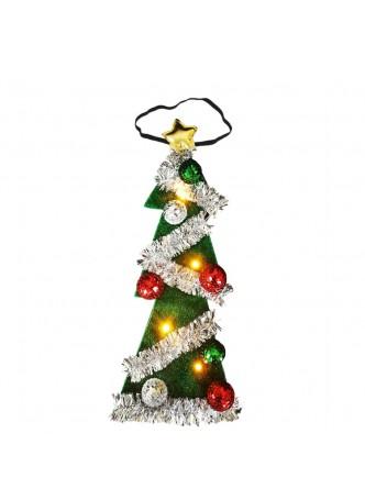 LED Light Up Christmas Tree Tie