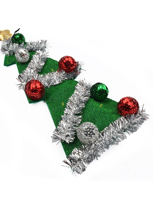LED Light Up Christmas Tree Tie