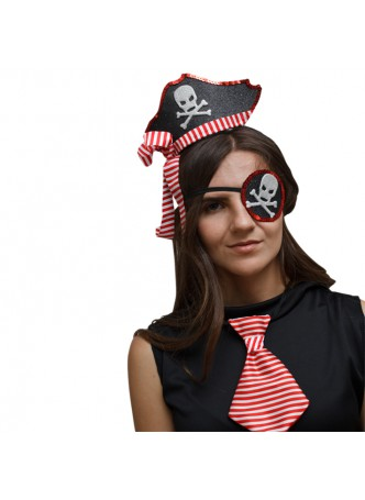 Halloween Costume Accessory Eye Mask & hat