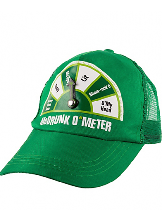 McDrunk O'Meter St. Patrick's Day Trucker Hat
