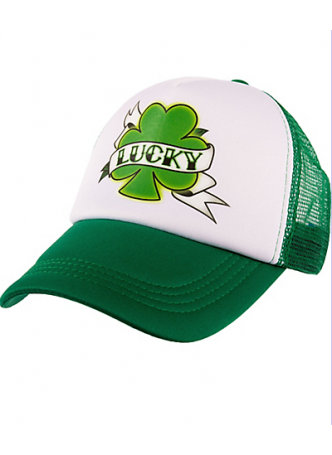 St.Patrick's Day Lucky Tracker Hat