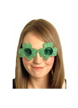 FANCY DRESS IRISH SHAMROCK LEPRECHAUN HAT GLASSES BOPPERS5