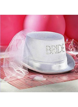 Bride To Be Velour Top Hat