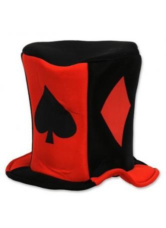 Card Suit Fabric Hat