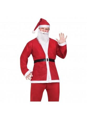 Cheap Santa Suit Adult Mens Funny Christmas Costume Fancy Dress