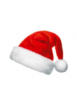 Merry Christmas Plush Santa Hat