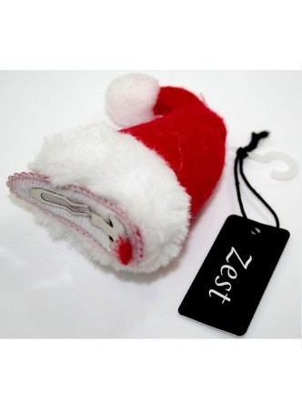 Christmas Mini Santa Hat Clip