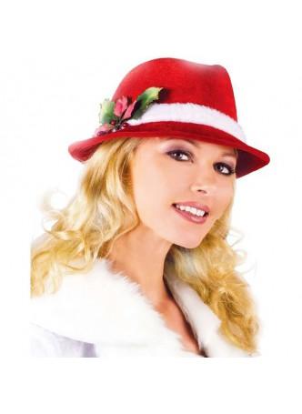 Christmas Cowboy Hat