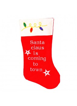 Christmas Felt Santa Claus Stocking
