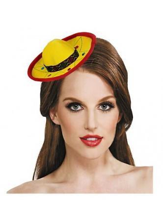 Mini Fiesta Sombrero Headband