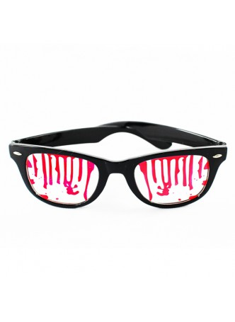 Halloween Costume Accessory Bloody Sunglasses