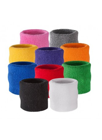 Halloween 80's Decade Wrist Sweatband Also Available in Neon Colors - Wristband for Sports
