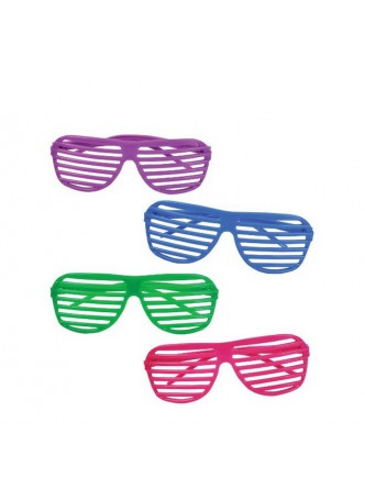Halloween Novelty 80's Slotted Toy Sunglasses Party Favors Costume