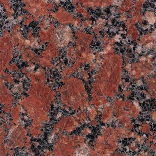 Santiago red granite