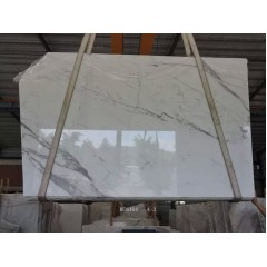 Statuario white marble slabs