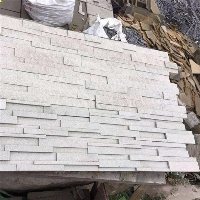 White sandstone wall tile