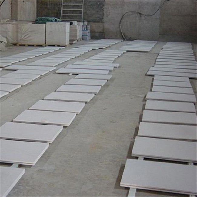 White sandstone wall cladding panels