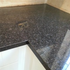Angola black granite countertops