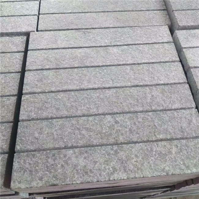 Flamed paver basalt stone  paving