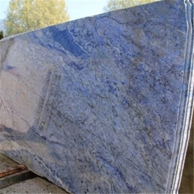 Blue bahia granite slabs