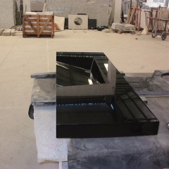 Shanxi black granite  kitchen sink