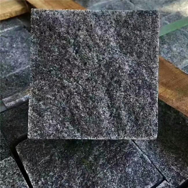 Natural split G654 granite cobblestone