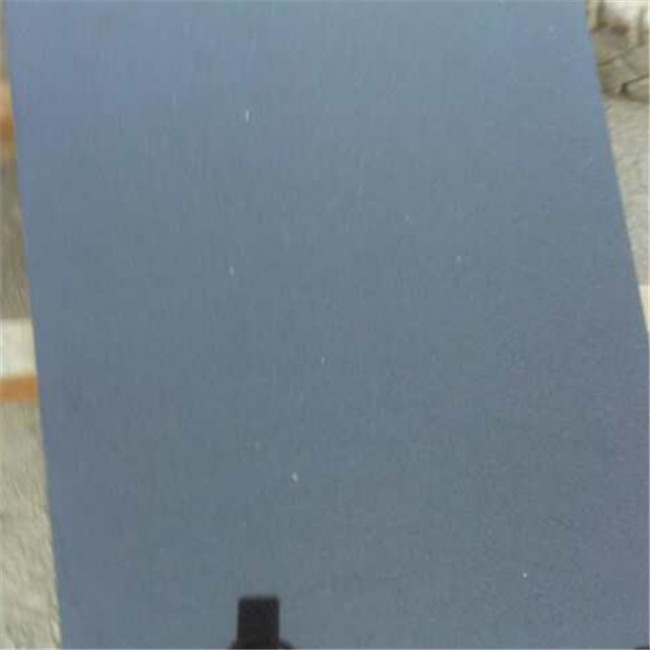 Honed Absolute black  granite tiles