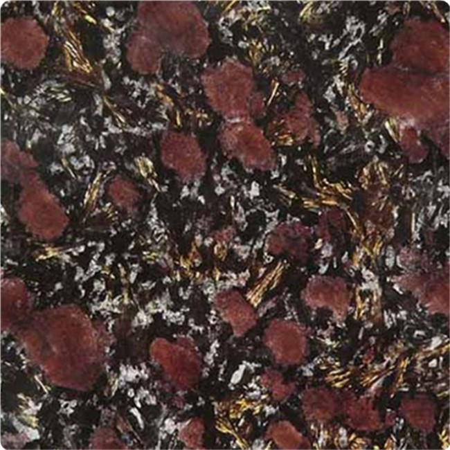 Night rose black  granite