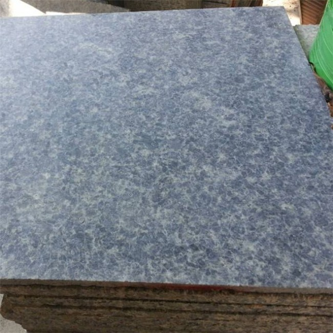 Ice blue granite