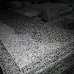 Polished royal gray granite tiles