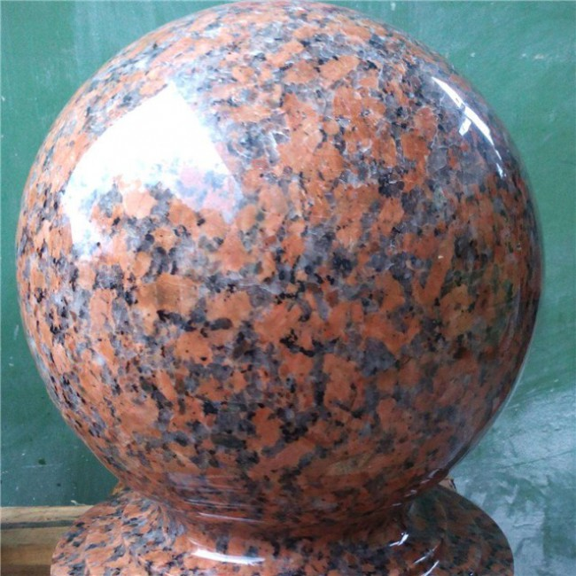 G562 Granite Parking Stone Ball,Stopping Stone